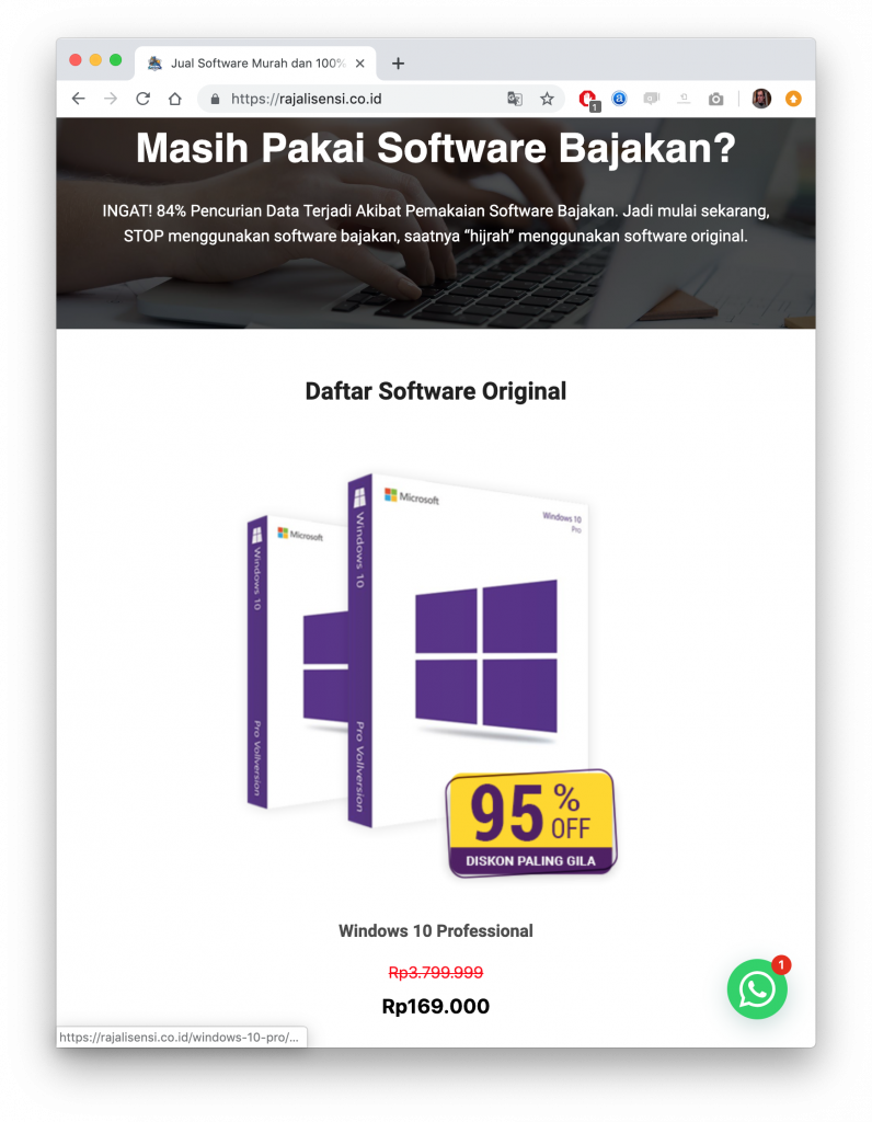 Buy Windows 10 and Office in Indonesia with WhatsApp | WAme chat