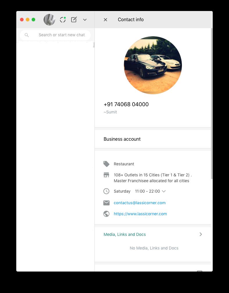 Lassi Corner – WhatsApp – India | WAme chat