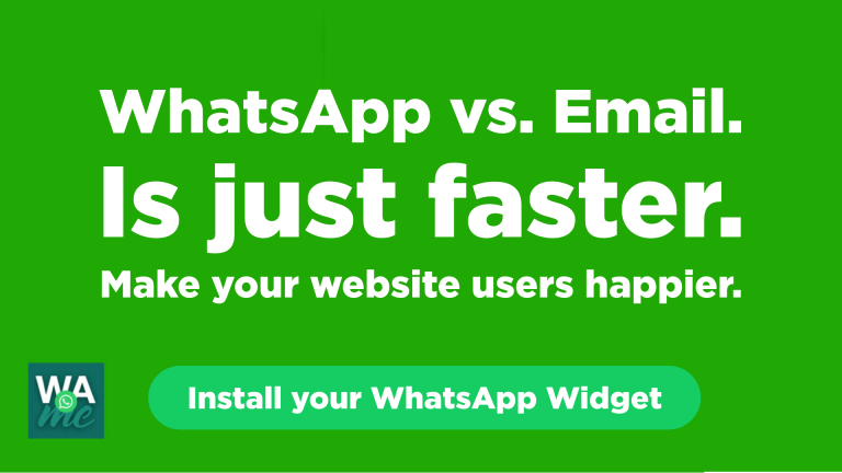ᐈ The plugin that connects WordPress with WhatsApp | WAme chat